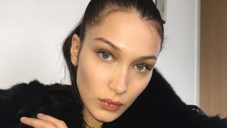 Bella Hadid bruker FaceTune?