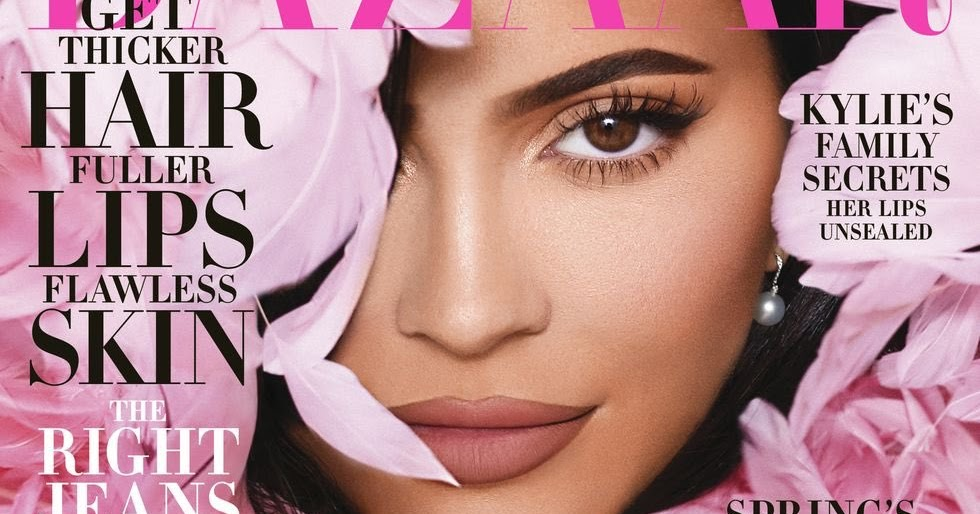 Kylie Jenners Harper's Bazaar-forside slepes på nettet