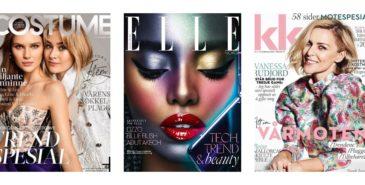 Leser- og opplagstallene for de norske kvinnemagasinene 2019