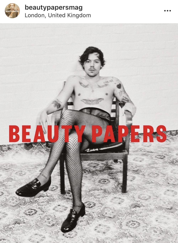 Harry Styles på forsiden av Beauty Papers fikk nettsiden til å krasje