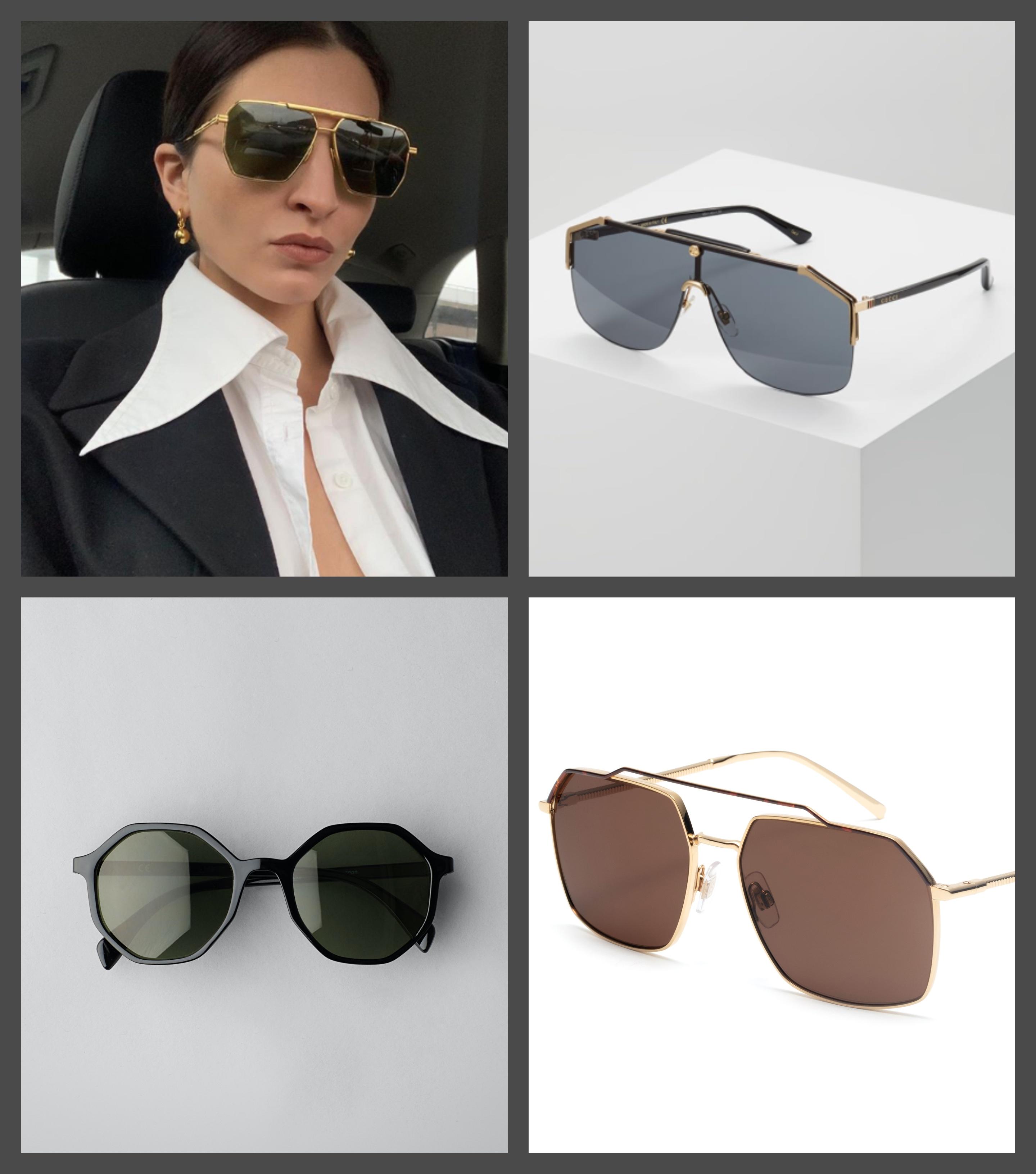 Nye solbriller på nesetippen Camilla Pihl