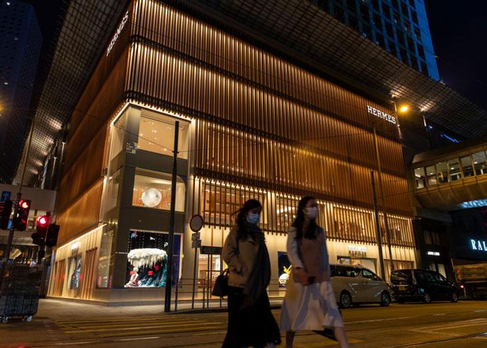 Hermès håvet inn millioner på sin første korona-åpne dag