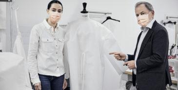 Louis Vuitton produserer ansiktsmasker og smittefrakker for helsepersonell i koronakrisen