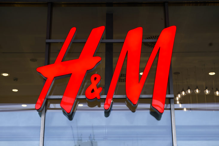 H&M anklages for rasisme