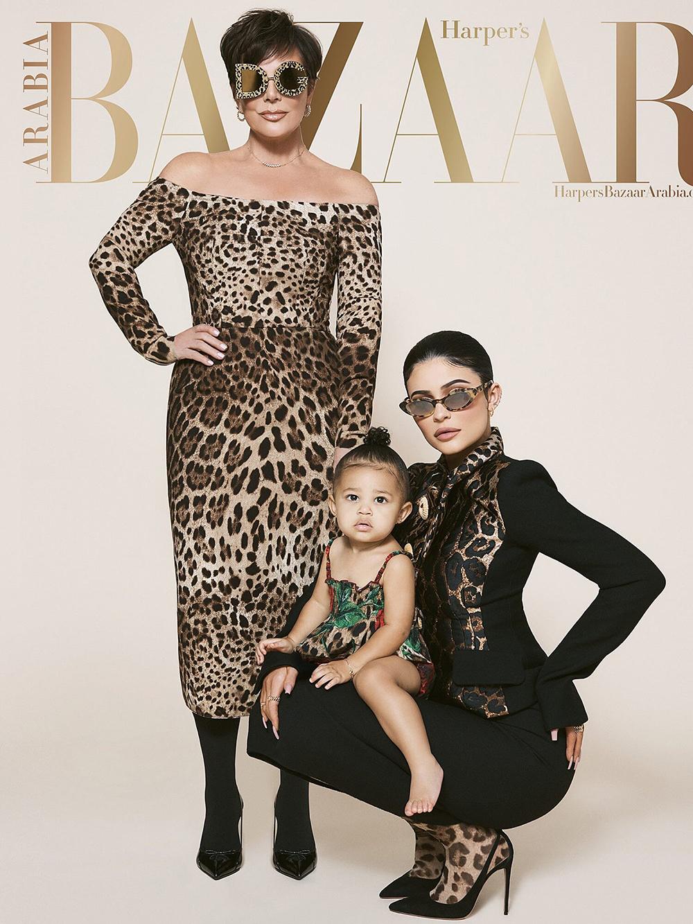 Det er ikke første gang Kylie Jenner putter datteren Stormi på coveret