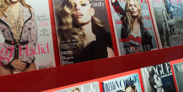 Vogue Italia lot barn få tegne coveret