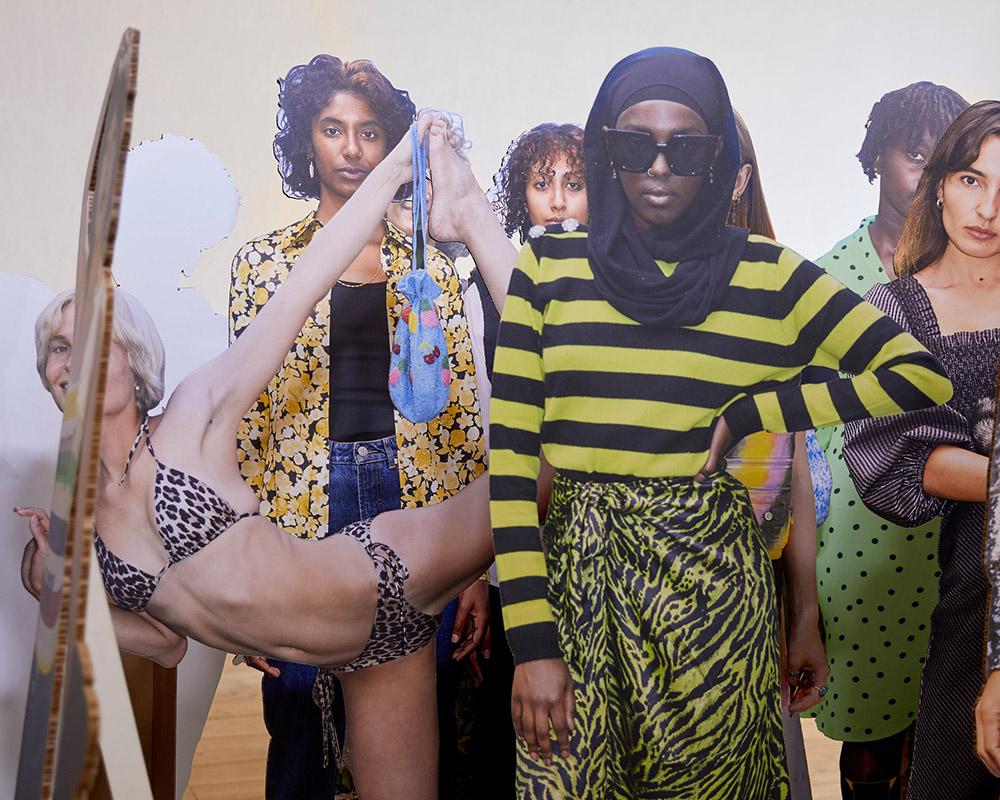Ganni var et av høydepunktene under Copenhagen Fashion Week