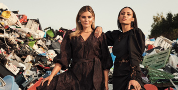 Janka Polliani og Mona Berntsen for H&M