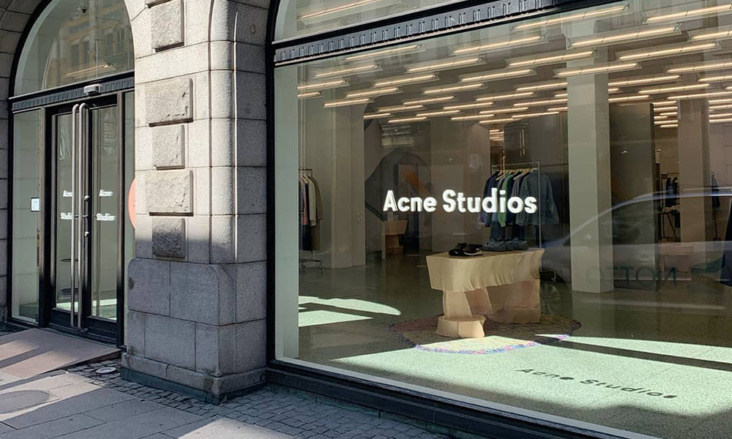 Acne Studios lanserer mer bærekraftige drops med overskuddsmaterialer
