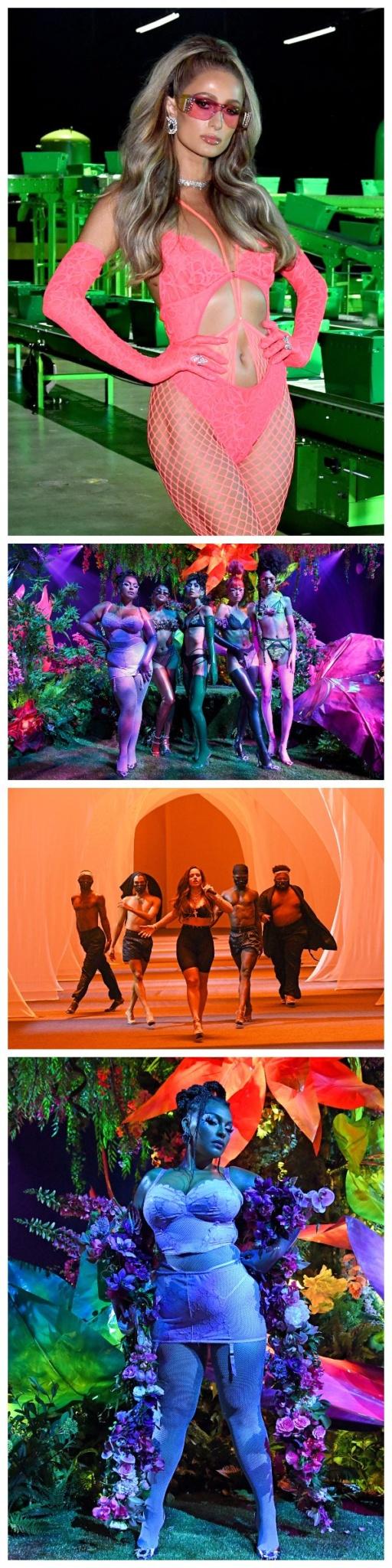 Bilde av Paris Hilton, Paloma Elsesser, og Rosalia