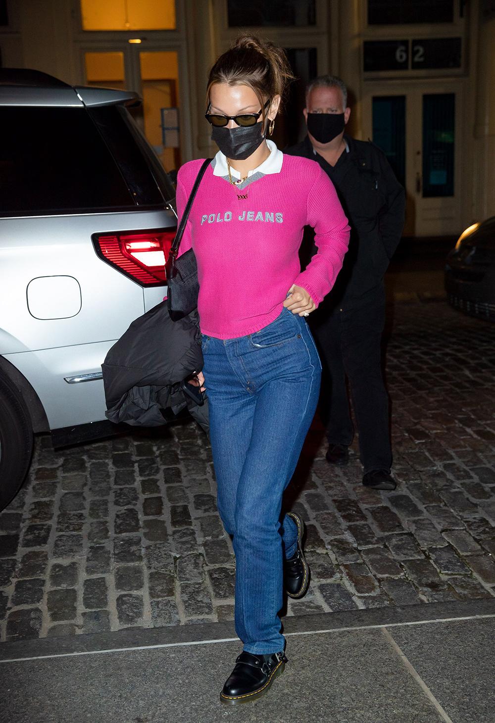 Kan Bella Hadid gjøre comeback for Polo Jeans?