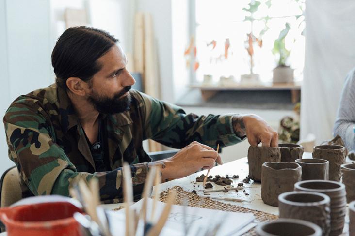Ben Gorham samarbeider med IKEA