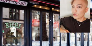 Superinfluencer og blogger BryanBoy anklager den svenske kjendisrestauranten Riche i Stockholm for rasisme