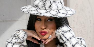 Rapperen Cardi B har en imponerende samling av Hermès Bikin-bags