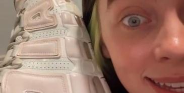 hvilken farge har skoene til billie eilish