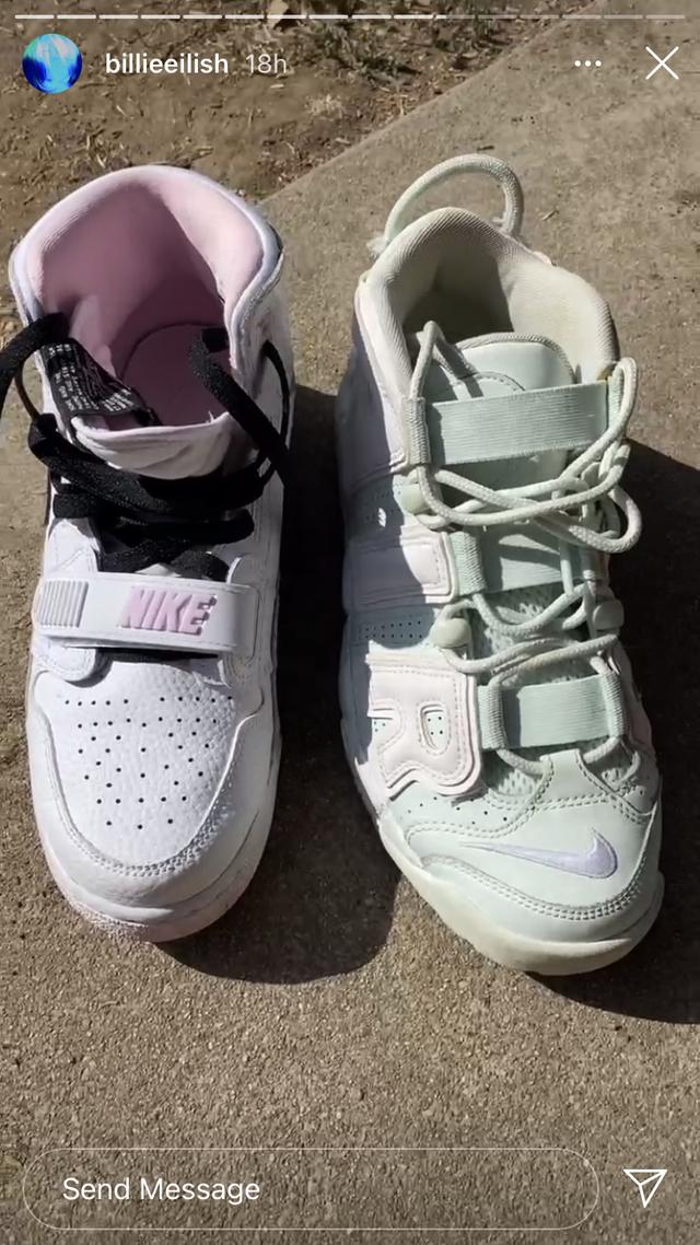 Billie Eilish-sko går viralt: Hvilken farge har egentlig disse skoene?