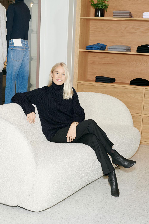 Julie Josephine har åpnet den nye butikken på Frogner