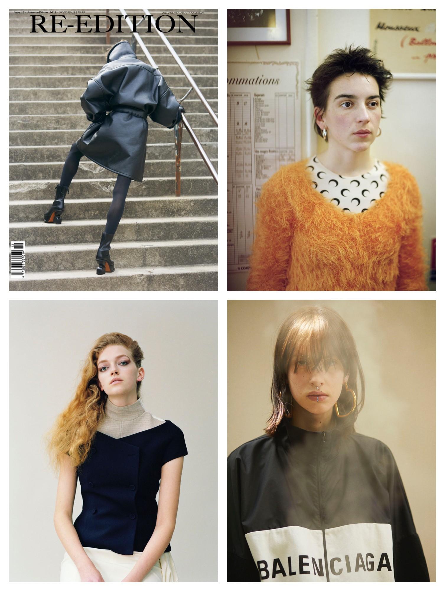 Bilder tatt av Ola Rindal for Re-Edition, Luncheon, Vanity Fair og Balenciaga