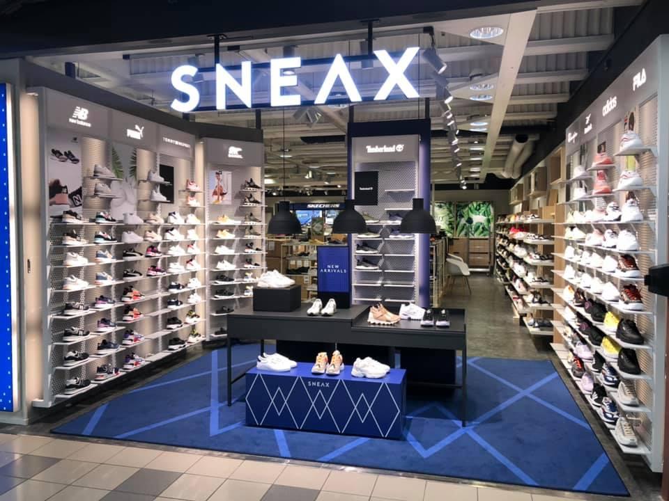 Skoringen åpner 21 SNEAX Stores | Skoringen Norge