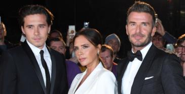 David Beckham, Victoria Beckham og Brooklyn Beckham