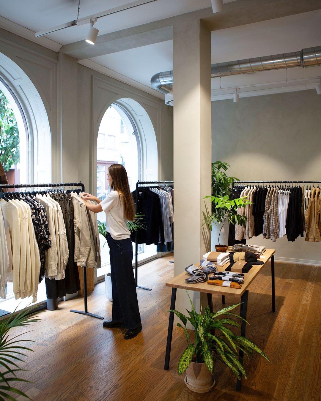 Bilde fra Livid sin butikk i Prinsens gate