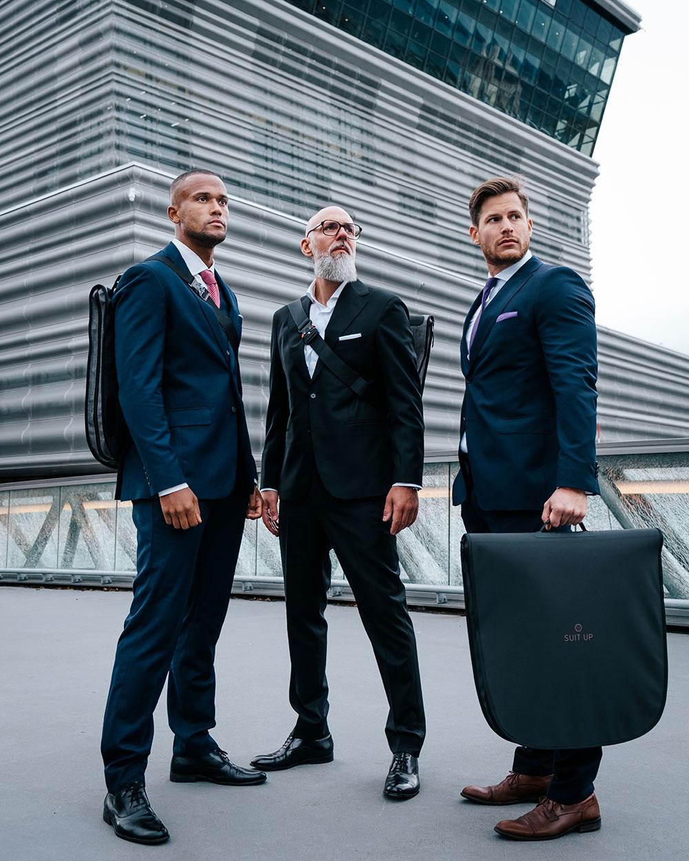 Vil revolusjonere hvordan forretningsfolk kler seg
