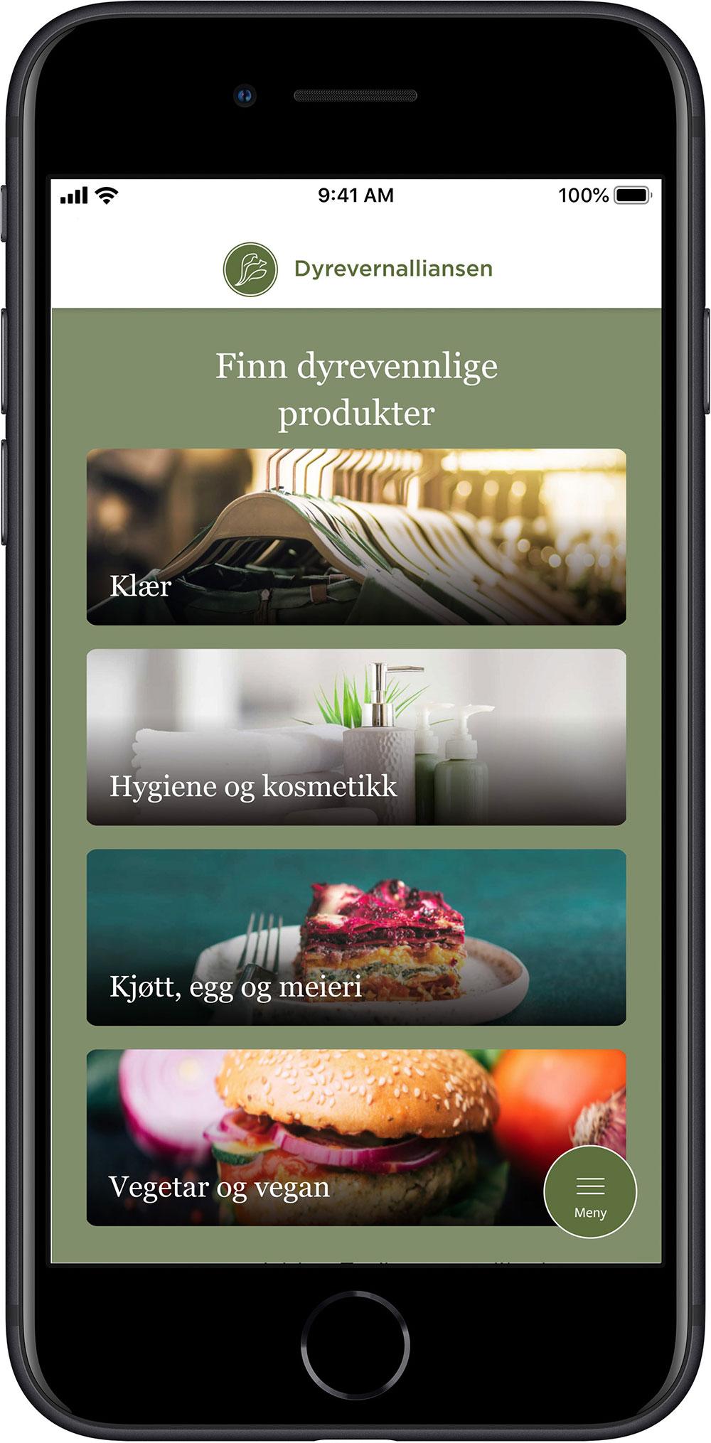 Dyrevernalliansen lanserer appen Dyrevennlig