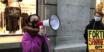 Extinction Rebellion aksjonerte mot motebransjens grønnvasking i Oslo sentrum fredag