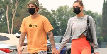 Justin Bieber og Hailey Bieber