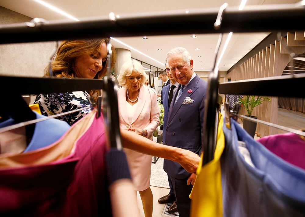 Prins Charles lanserer kleskolleksjon