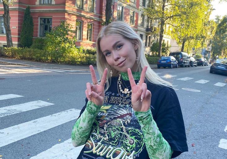 Kunsthøgskolen i Oslo-student Sara Sofie Tallaksen kan vinne den danske designprisen Designers Nest under moteuken i København