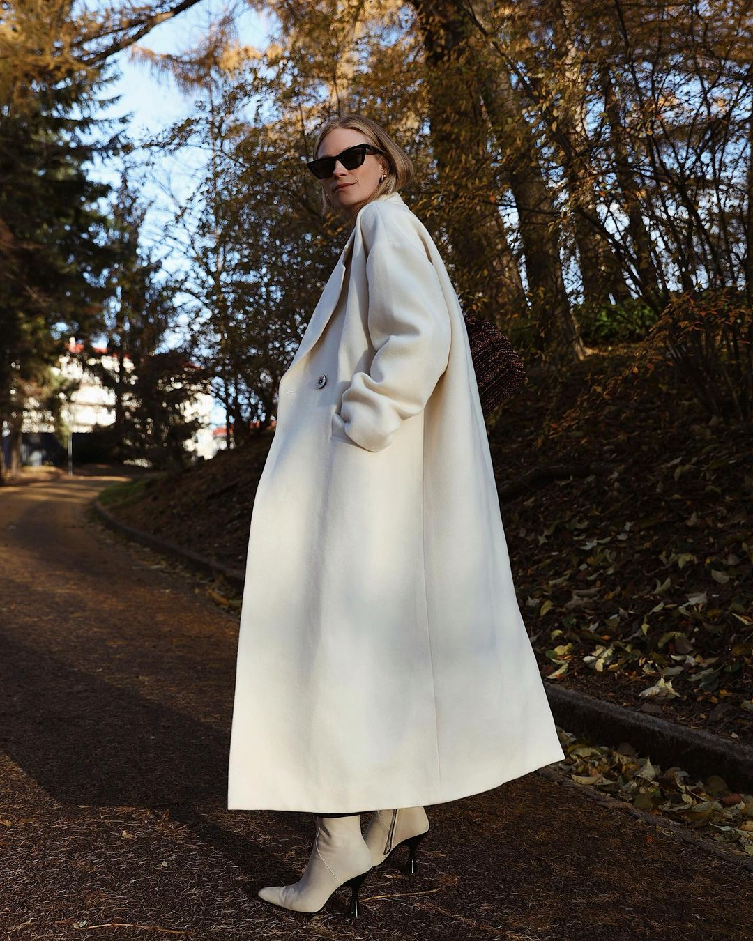 Tine Andrea er en av flere norske moteprofiler som gleder seg til jul.