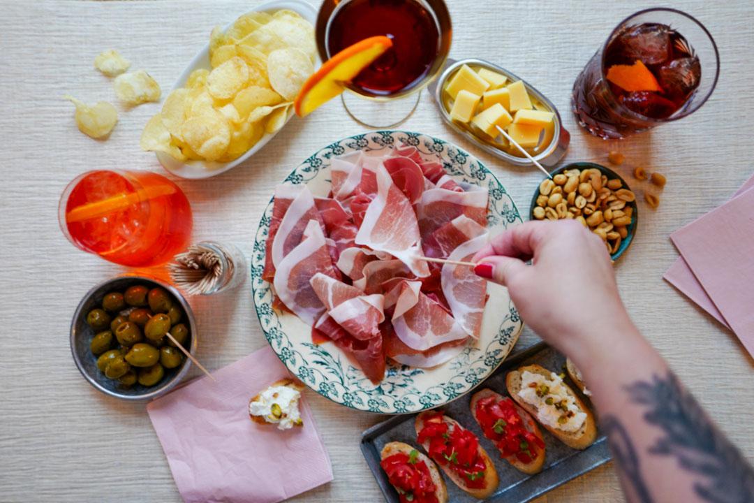 Italiensk aperitivo