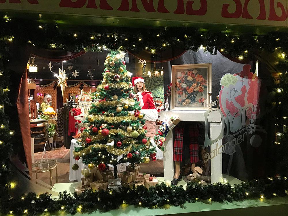 Årets julevinduer i Oslo