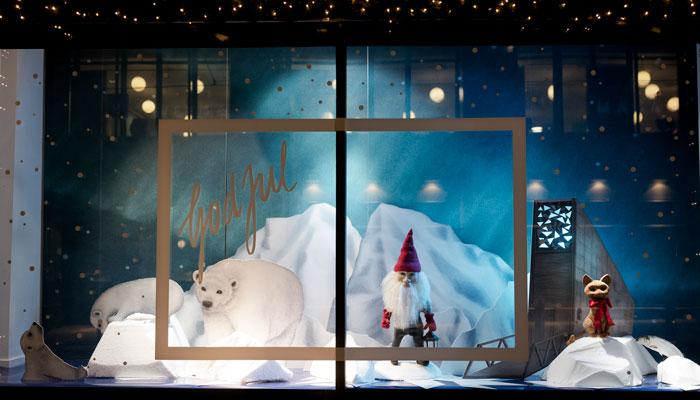 Dette er årets fineste julevinduer i Oslo