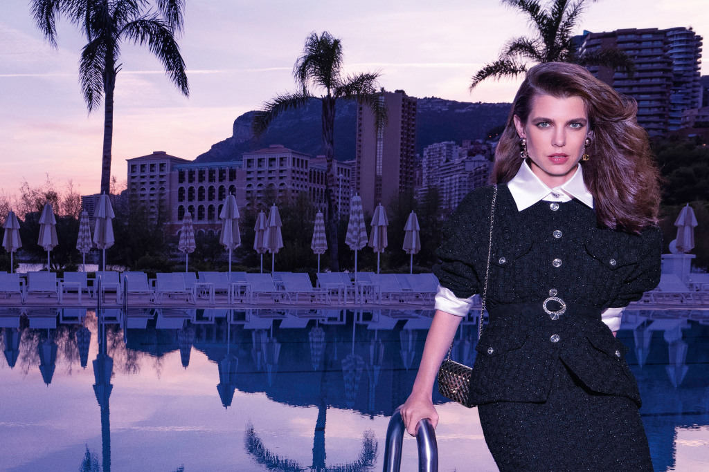 Kampanjebildene av Charlotte Casiraghi for Chanel