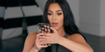 Kim Kardashian som logger inn på eksens konto?