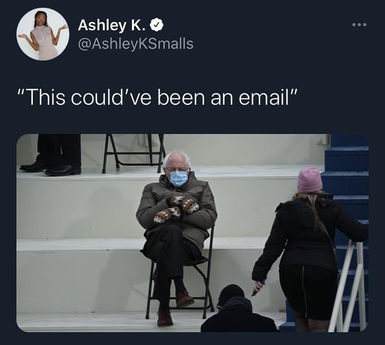 Bernie Sanders meme går viralt