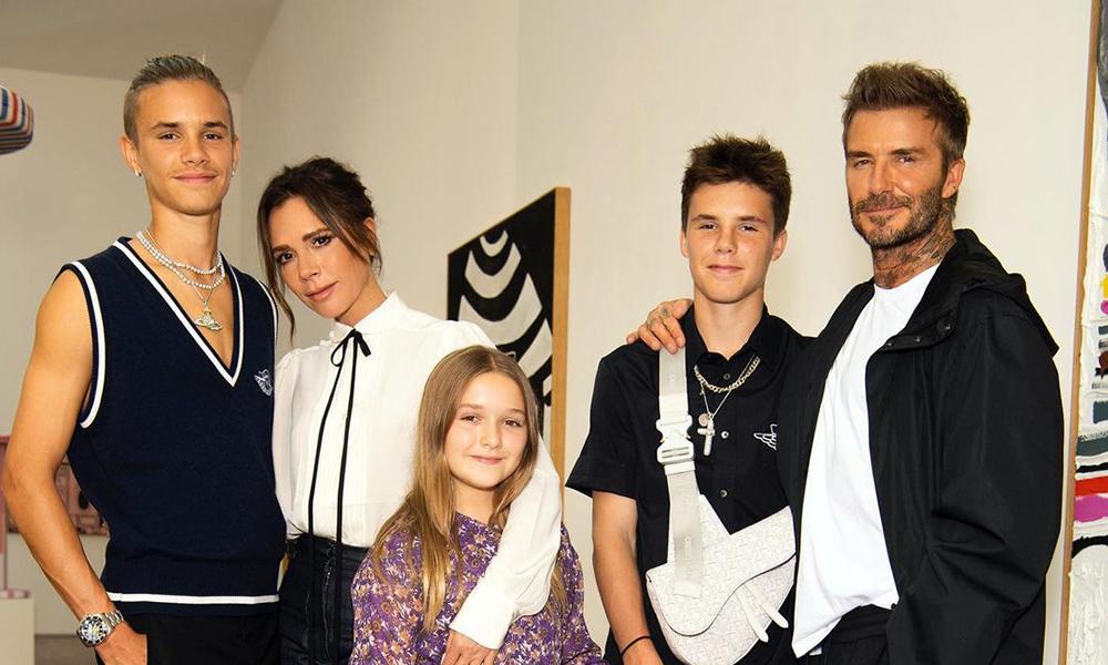 Cruz Beckham selger Louis Vuitton-hoodie for 150 000 dollar