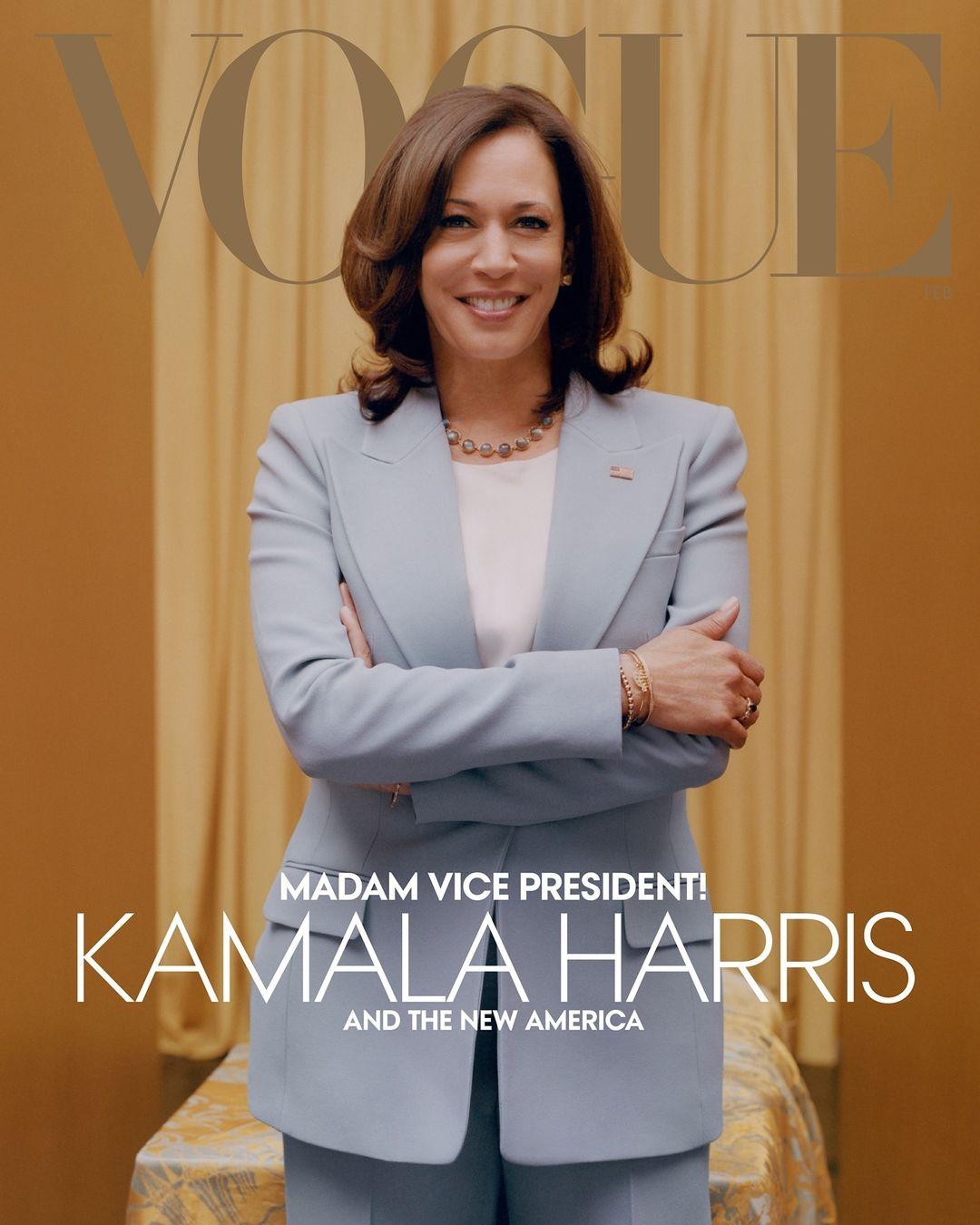 Hvorfor er det så vanskelig å snakke om mote? Vogue-forsiden med Kamala Harris er blitt heftig kritisert