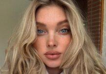 Elsa Hosk deler uvanlig babynavn og fødselshistorie på Instagram