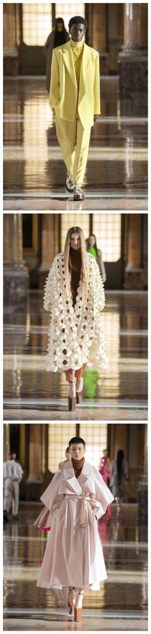 Fra Valentino sin Couture-kolleksjon for 2021
