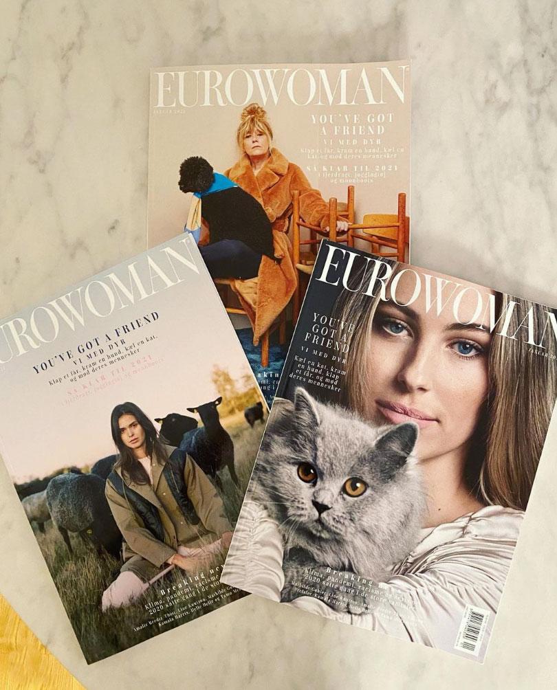 Derfor satte Eurowoman dyr på forsiden av januarutgaven