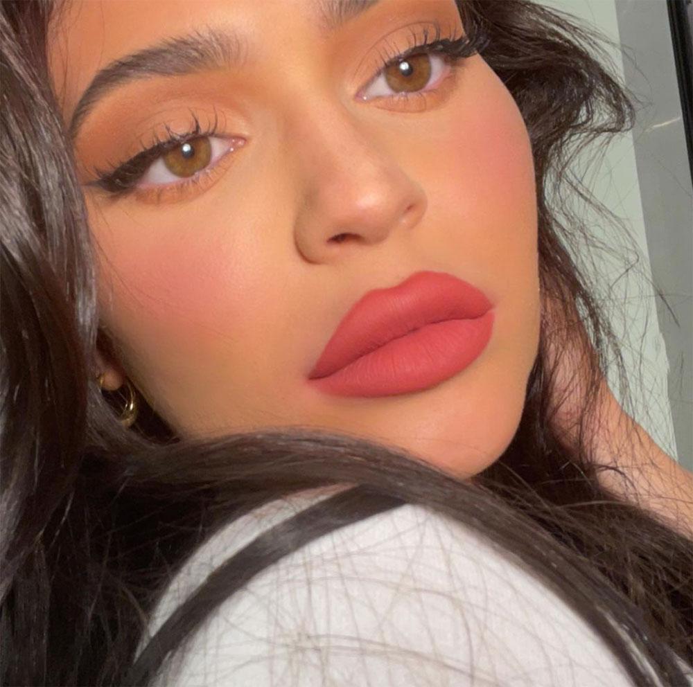 Kylie Jenner med blush