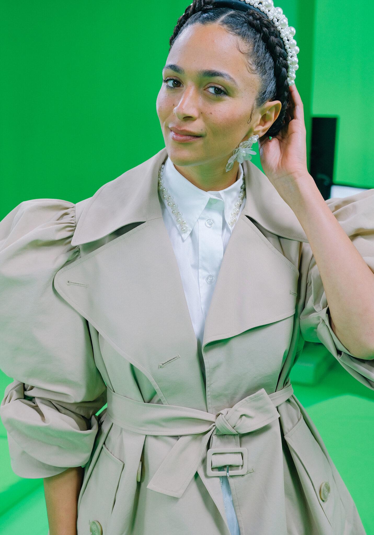Simone Rocha x H&M-samarbeidet vises frem i AR.