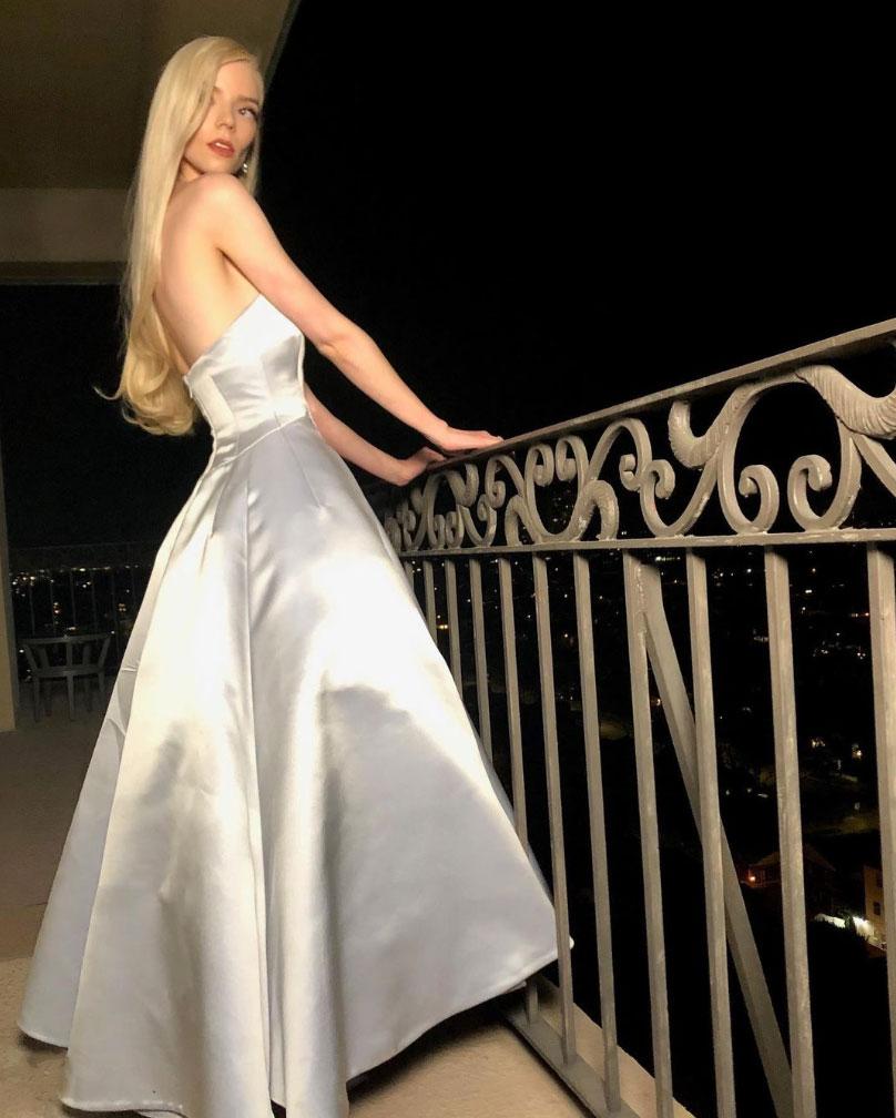 Anya Taylor-Joy i kjole fra Dior