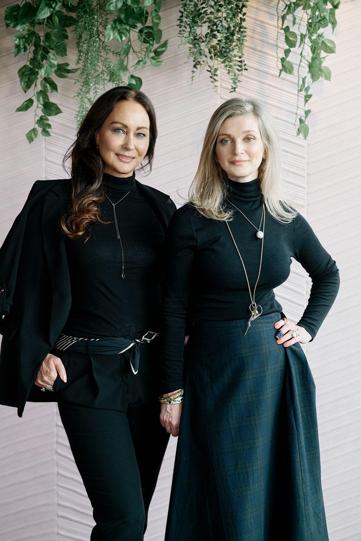 Camilla Diane Meyer og Anne Cecilie Rinde