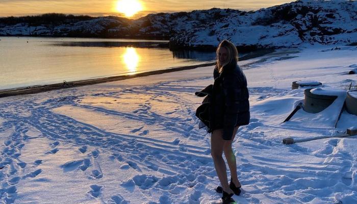Celine Aagaard tipser om helårsbading ute