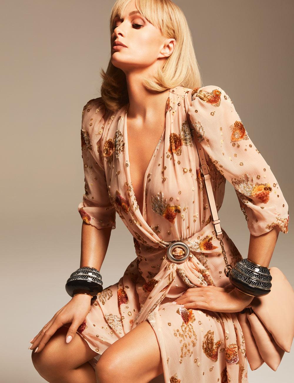 Paris Hilton er nytt ansikt utad for Lanvin