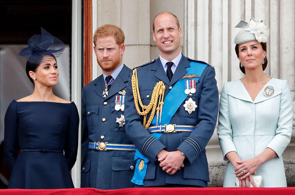 Meghan, Harry, William og Kate